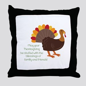 May Your Thanksgiving Throw Pillow